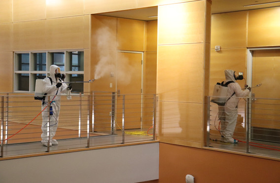 Disinfection Site-Rio Hondo College Library