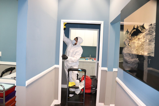 Disinfection Site-Dental Office