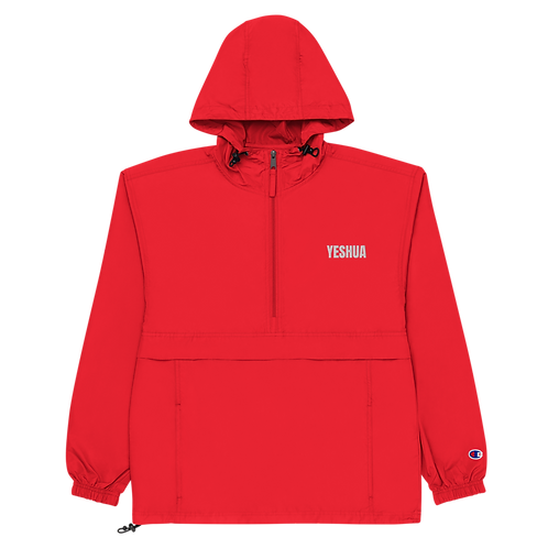 Embroidered Champion Packable Jacket Style 1