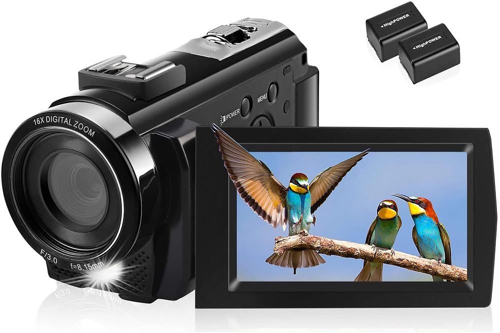 Video Camera Camcorder Full HD 1080P
