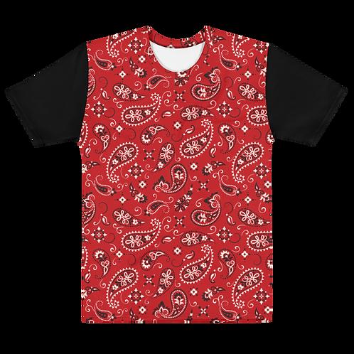 Men's Paisley T-shirt - Style 1