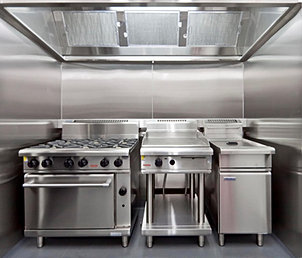 Commercial Kitchen In Shipping Containers