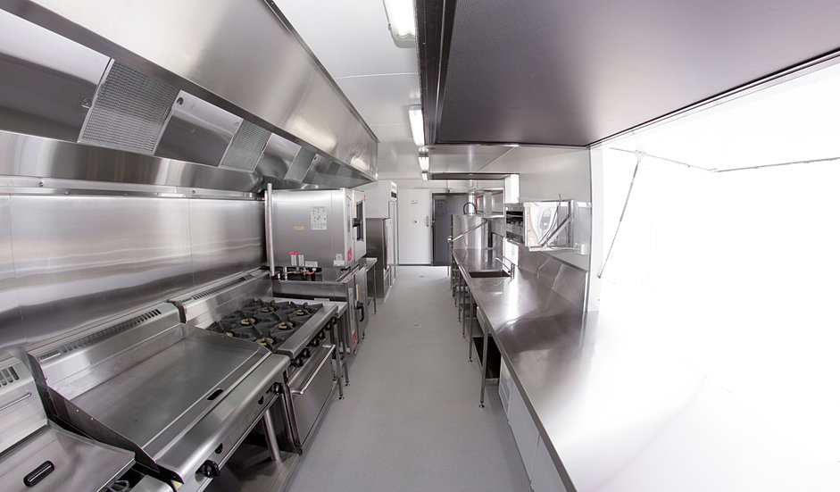 Container kitchens for Amenagement cuisine professionnelle