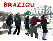 Le premier CD de Braziou, avec Denis Robinson, Pierre Ross, Roseline Dubé et Marie-Andrée mathieu