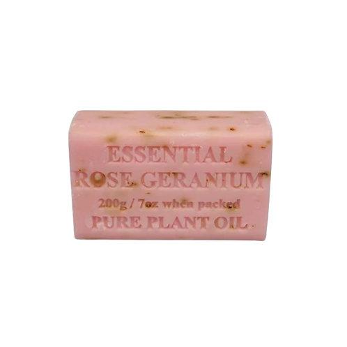 Essential Oil Soap Rose Geranium