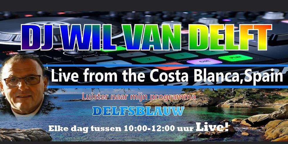 RADIO INTERVIEW | DJ Wil van Delft, live uit Costa Blanca, Spanje