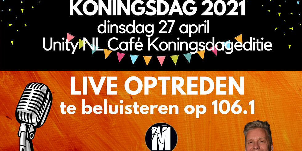 KONINGSDAG 2021 | UNITY CAFE LEIDEN