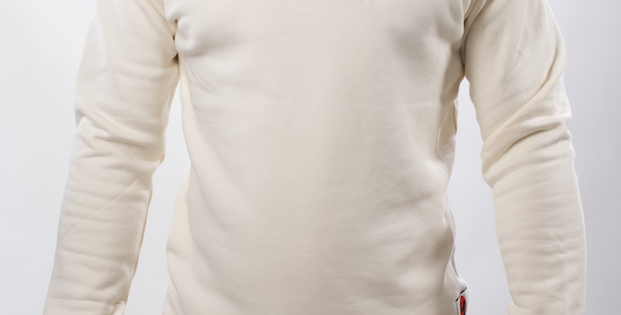 Sweatshirt Blanc 4