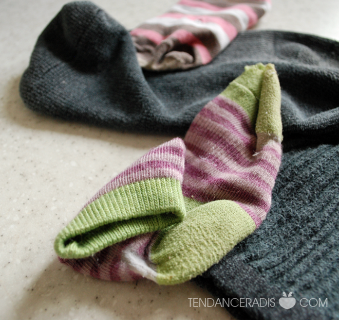 Assez Animaux | Réutiliser les chaussettes/bas | Tendance Radis | Zéro  ZA72