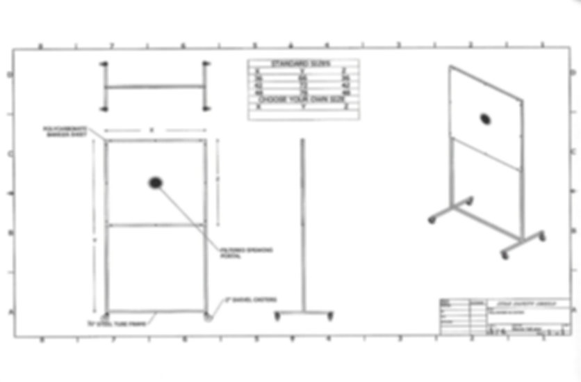55 PSS - Partition Safety Shield