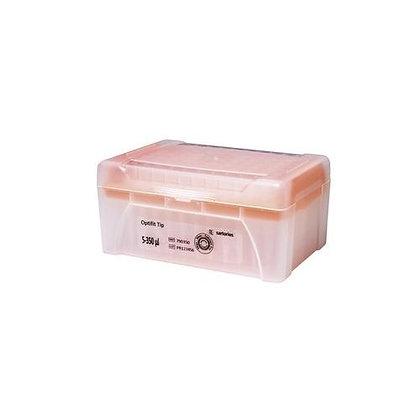 PUNTAS BH TIP DE 5-350 μL, ST (10X96), CAJA CON 96 PZAS