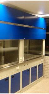 Doble campana de bioseguridad con gabinetes inferiores
