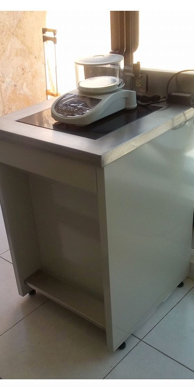 Mesa para balanza
