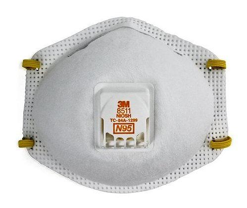 CUBREBOCA MODELO 8511, NIOSH N95, CON FILTRO