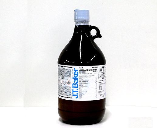 ACIDO CLORHIDRICO 36.5-38.0%, 2.5 L