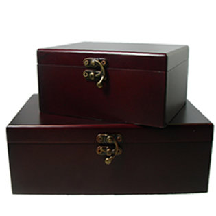 WOODEN BOX Hand Crafted Cherry