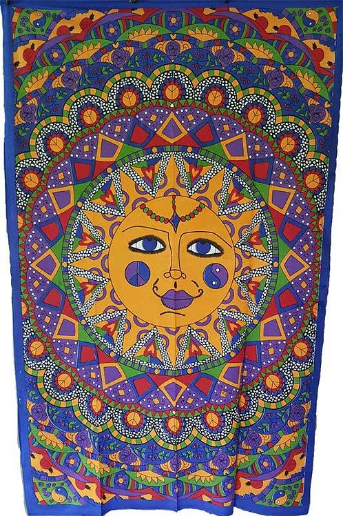 Sun Multi Color tapestry
