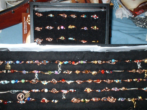 Copper Rings 3- 6 or 12