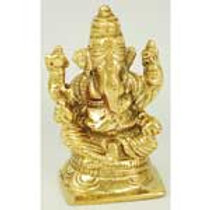 Ganesh statue depicts Remover of Obstacles