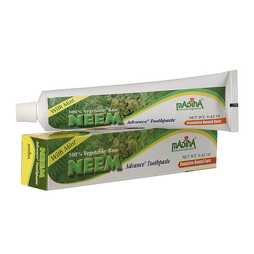 Neems Natural no fluoride tooth paste