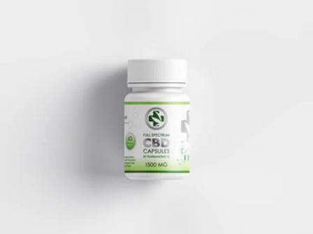 Pharmaxtracts 750mg, CBD Capsules