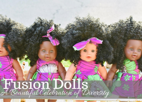 Fusion Dolls: A Beautiful Celebration of Diversity and Self Esteem   By Victoria Robillard