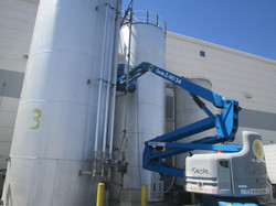 STORAGE SILO EXTERIOR CLEANING