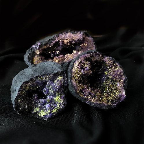 Purple Aura Geodes