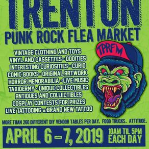Trenton Punk Rock Flea Market is coming!!!