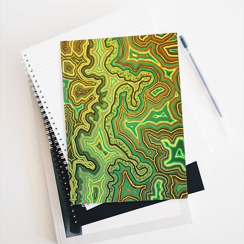 Green Sketch Book - Blank