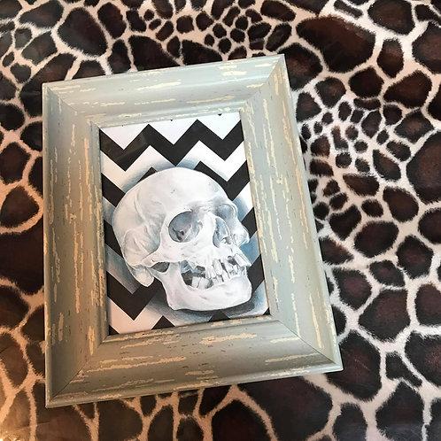 Zig zag skull