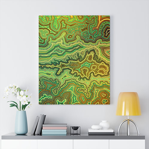 Green Canvas Gallery Wraps