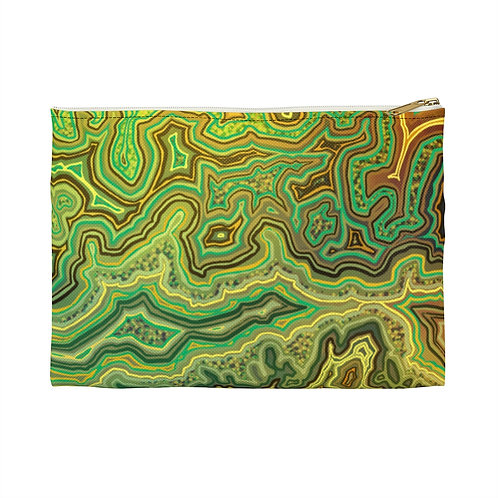 Green Accessory Pouch