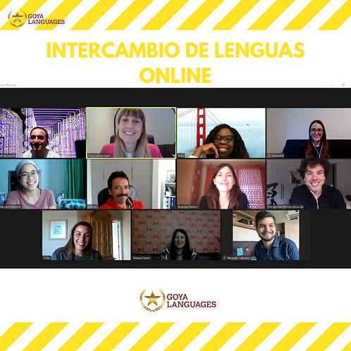 Online Language Exchange: Spanish-English
