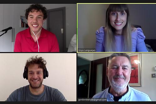 Online Spanish Conversation Class: Beginners
