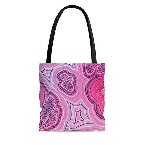 Pink AOP Tote Bag