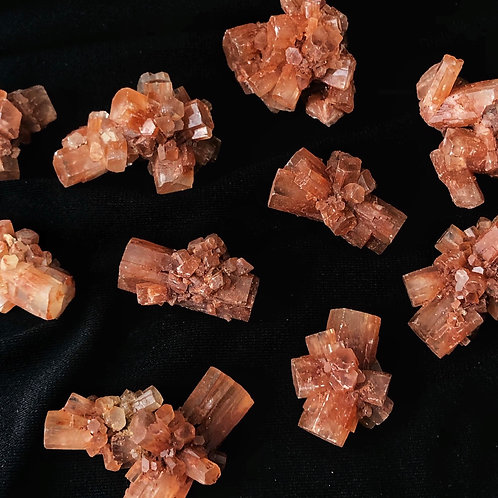Aragonite specimens
