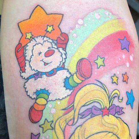 Rainbow Brite tattoo