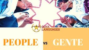 ¿People plural o singular?