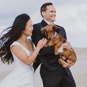 Chloe & Kev + Ben & Stella STYLED WEDDING SHOOT