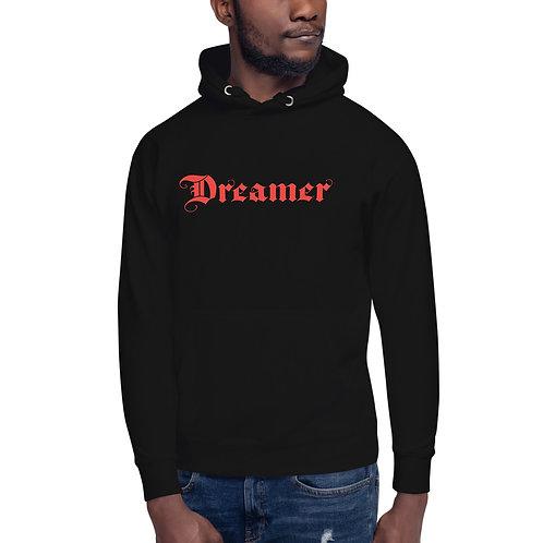 "unisex • ""dreamer"" • logo only back • hoodie"