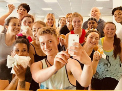 MSU - After a good class - - sometimes you need a selfie!!!!