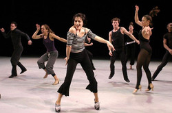 Created a dance for Broadway royalty - - Dana Moore!