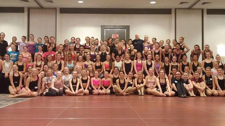 SHARING with LOTS o DANCERS!