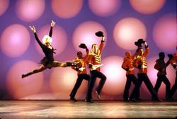 BROADWAY!  Dancing while Ann Reinking flies!