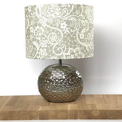 30cms Grey swirl Lampshade