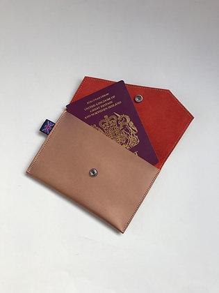 Passport Holder - Bronze