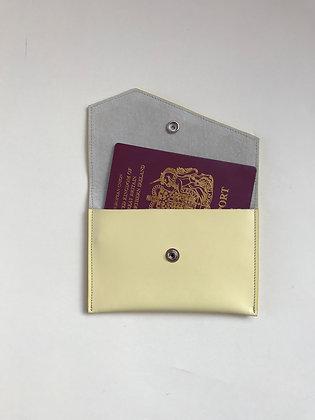 Passport Holder - Lemon