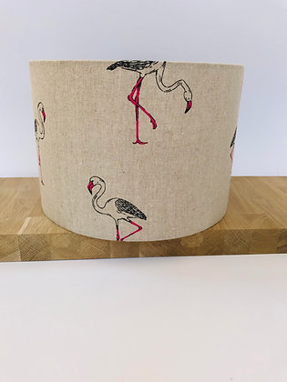 30cms Flamingo Lampshade