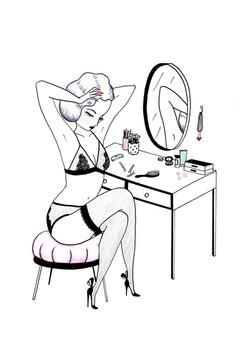 Mae: Dressing Table (i)